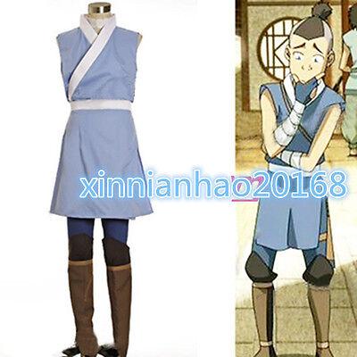 Avatar The Last Airbender Cosplay Sokka Cosplay Costume Set Halloween Costume - Halloween Costumes Avatar Last Airbender