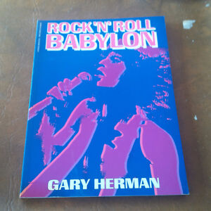 Rock 'N Roll Babylon, Gary Herman 1982 Kitchener / Waterloo Kitchener Area image 1