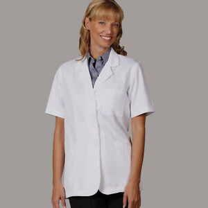 Small, white short sleeve lab coat Kitchener / Waterloo Kitchener Area image 1