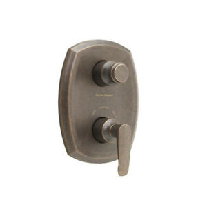 A.S. Copeland 2-Handle Thermostat Trim Valve Oil Rubbed Bronze
