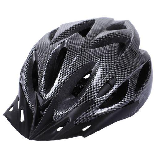 Carbon Bicycle Helmet Bike MTB Cycling Adult Adjustable Unis