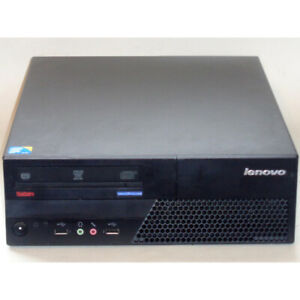 Lenovo M58p Desktop PC SFF Computer Core2 Duo 3GHz 4GB RAM 160GB