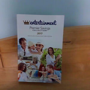 ENTERTAINMENT Premier Savings Collection coupons book 2017
