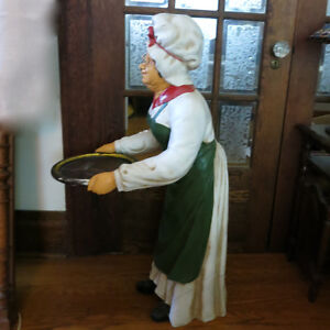 "40"" Tall Statue Restaurant Bar Butler Lady Maid & Serving Tray Kitchener / Waterloo Kitchener Area image 4"