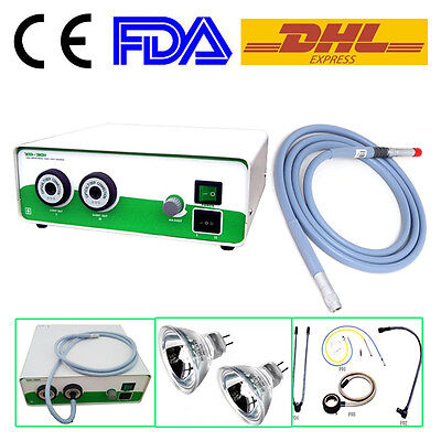 Endoscope Xd-301-2-250w Double Halogen Cold Light Source Fiber Cable4x1800mm Ce