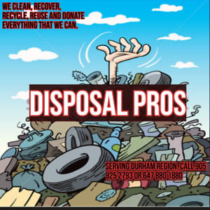 DISPOSAL PROS free scrap removal and Free quote for junk remova