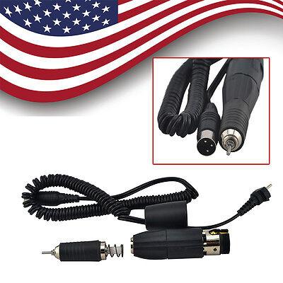 35000 Rpm Dental Lab Micromotor Polishing Micro Motor Handpiece Fit Marathon Us