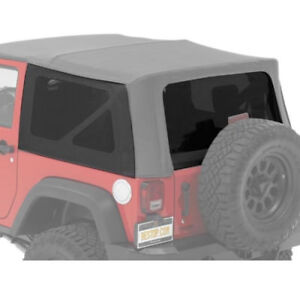 Bestop Jeep  soft top: 2 side and one rear window 45 inches wide