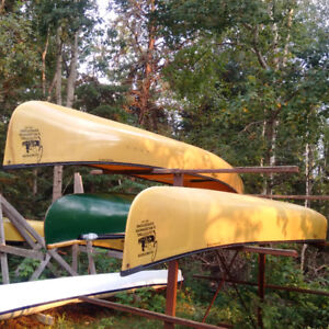 Ultra-light Souris River Kevlar Prospector Canoes