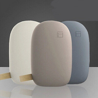 Mini Portable 10400Mah Dual Usb Stone Pebble Power Bank Battery Charger Quality