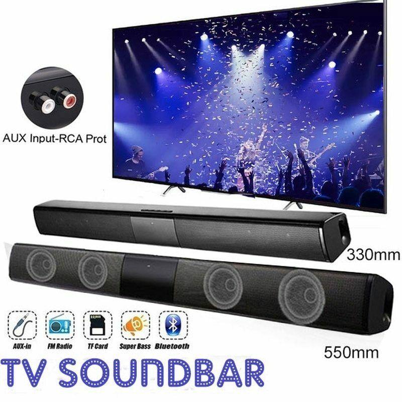 Wireless TV Sound Bar Bluetooth Speaker Hifi Home Theater Surround Sound System