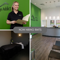 Registered Massage Therapist - Full Time and Part Time