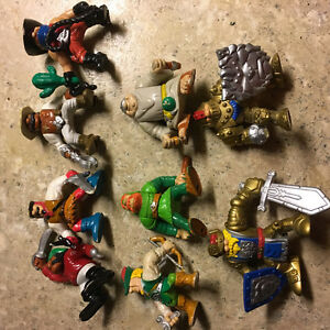 F-P Inc toys. Lot of 9