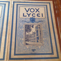 Five yearbooks...1927-1931 VOX LYCEI