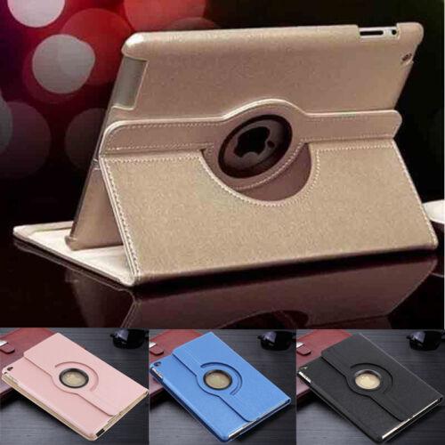 Ipad Mini Case - 360 Rotating Stand Leather Smart Cover Case For Apple iPad 2/3/4 /mini/Air 2/Pro