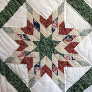 UNIQUE , GORGEOUS HAND MADE, HAND STITCHED QUILT FOR SALE.
