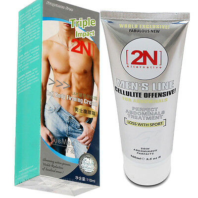 Hot Fat Burning Anti Cellulite Body Slimming Cream Gel Weight Loss For Men