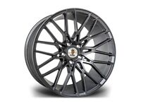 "Matt Gunmetal x4 19"" Stuttgart ST8 Alloy Wheels Audi TT A3 A4 VW Golf Caddy"