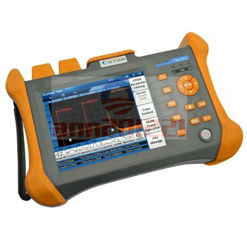 OTDR SM Optical Time Domain Reflectometer Tester 1310/1550nm Built-in VFL 10mW-
