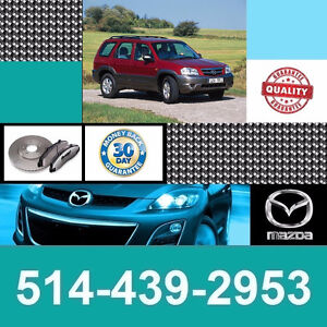 Mazda Tribute ■ Brakes and Rotors ► Freins et Disques