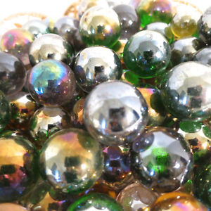 148 24mm Marbles Iridescent Games Decorations Crafts etc. Blue Kitchener / Waterloo Kitchener Area image 5