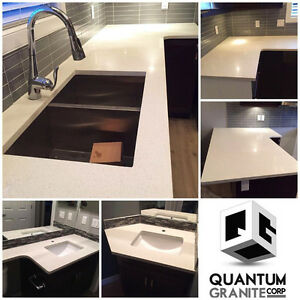 GRANITE/QUARTZ COUNTER TOPS