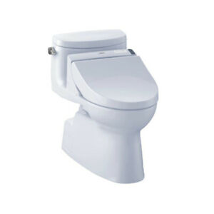 TOTO MW6442044CEFG Carolina II WASHLET C200 One Piece Toilet Cot
