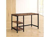 Wooden Metal Desk For Sale