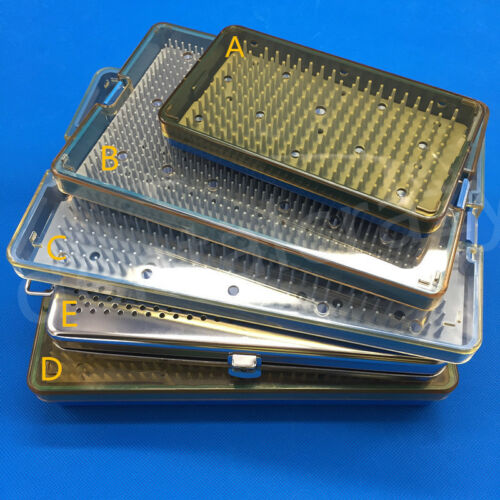 Sterilization Tray Case Box Opthalmic Surgical Instrument 5 types Case Tools