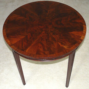 Antique Regency/Empire mahogany centre/occasional table