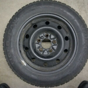 Snow Tires on Rims for Honda Civic Oakville / Halton Region Toronto (GTA) image 1