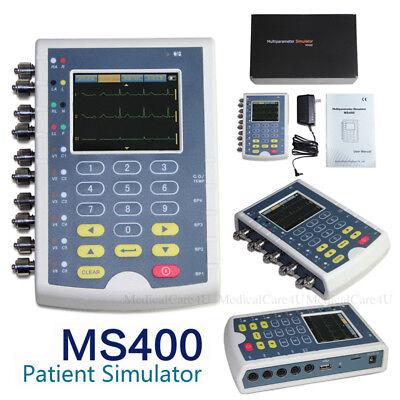 Portable Ms400 Multi Parameter Patient Simulator Touch Ecg Simulator Usa Stock