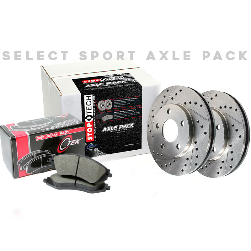 Rear Brake Pads and Rotors Slotted and Drilled Kit 928.42501