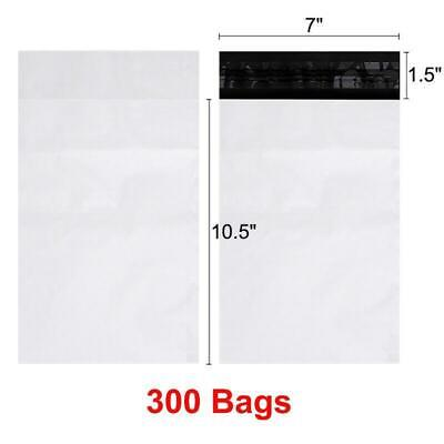 300 7x10.5 Poly Mailers Shipping Envelopes Self Seal Bags 2.5mil 7 X 10.5