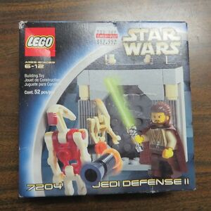 LEGO Star Wars: Jedi Defense II 7204 BRAND NEW
