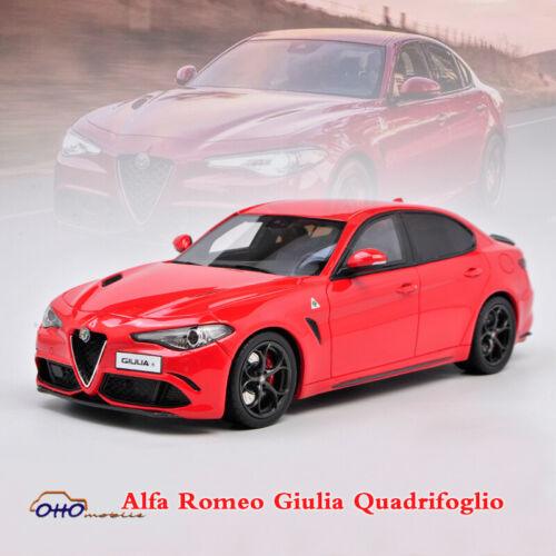 Limited OTTO MOBILE 1:18 Resin Car Diecast Model Alfa