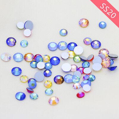SS20 AB Flatback No-Hotfix Costume Dress Crystal Rhinestone Nail Art Card making