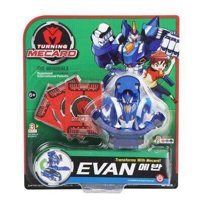 Turning Mecard Evan Robot Toys