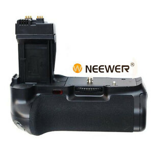 NEEWER Vertical Battery Grip with LCD Screen Monitor Used