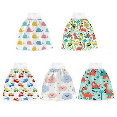 как выглядит 2 in 1 Comfy Infant Baby Diaper Skirt Waterproof Absorbent Washable Shorts Pants фото