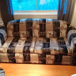 Perfect COUCH with pull out BED inside (2 in 1) - ONLY $155 OBO