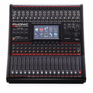 Phonic Summit 16 Mixer / Recording Interface. Brand New in box!