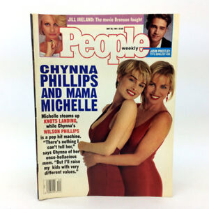 People Weekly Magazine Chynna & Michelle Phillips May 20 1991