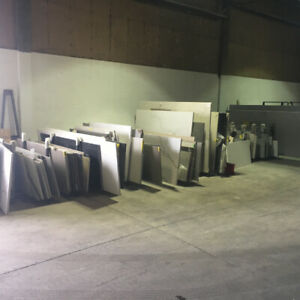GRANITE SHOP OFF CUTS - SOME OF IT IS FREE OF CHARGE