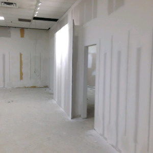Drywall TAPING/MUDDING/INSTALL/POP CORN REMOVAL ..SMOOTH CEILING