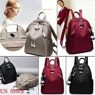 Women PU Leather Backpack Casual Handbag Shoulder Travel School Bag Rucksack HOT