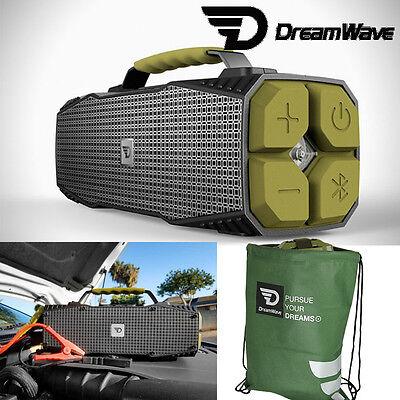 Dreamwave SURVIVOR Outdoor 30W Portable Bluetooth Speaker + Vehicle Jump Starter