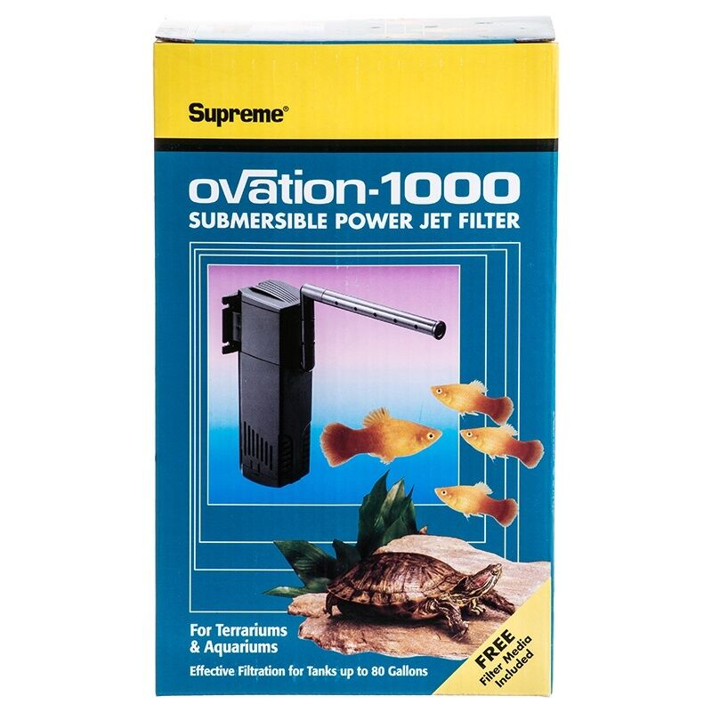 Supreme Ovation 1000 Internal Aquarium/terraium Filter 01...