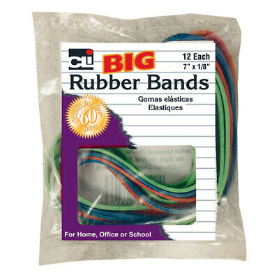 Charles Leonard - Big Rubber Bands 7x18in 12pk