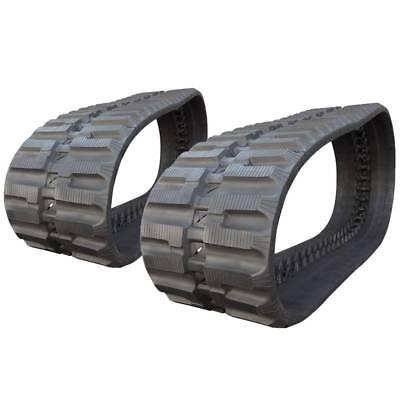 Pair Of Prowler Case Tr340 C-lug Tread Rubber Tracks - 450x86x58 - 18